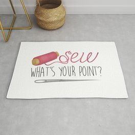 Sew What's Your Point? Rug
