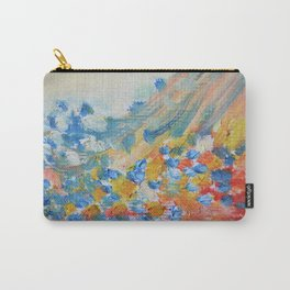 Pastel Pastel Abstract Oil Carry-All Pouch