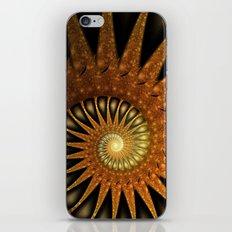 Dark Shell Fractal iPhone & iPod Skin