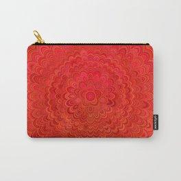 Fire Flower Mandala Carry-All Pouch