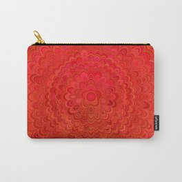 Fire Flower Mandala Carry-All Pouch