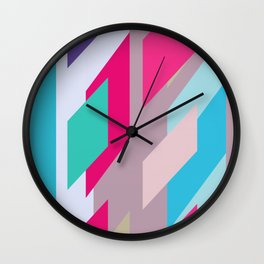 Abstracts colors Nr.2 Wall Clock