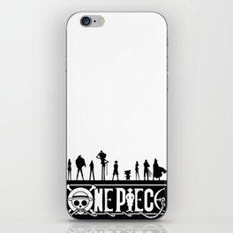 One Piece Pirates iPhone Skin