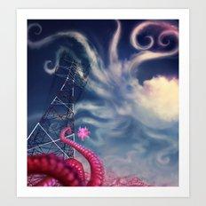 octowires Art Print