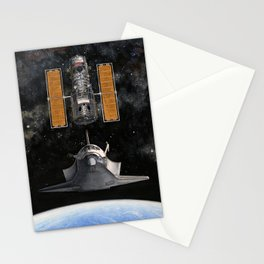 Hubble Rendezvous Stationery Cards