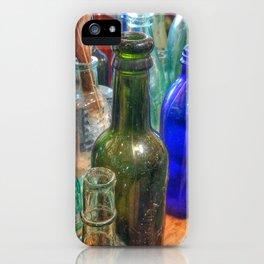 Glass Bottles (2) iPhone Case