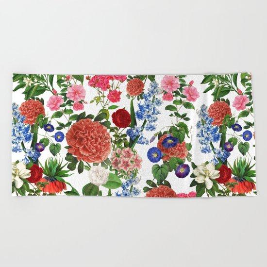 Botanical Garden Beach Towel