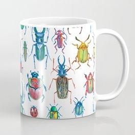 colours oc beetles pattern Coffee Mug