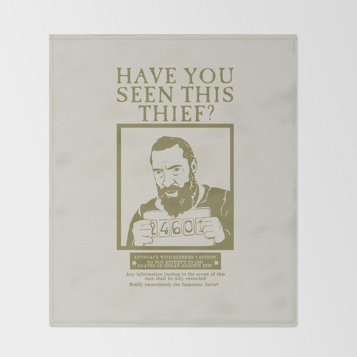 [ Les Miserables ] Jean Valjean Hugh Jackman Mis Throw Blanket