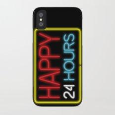 Happy 24 hours iPhone X Slim Case