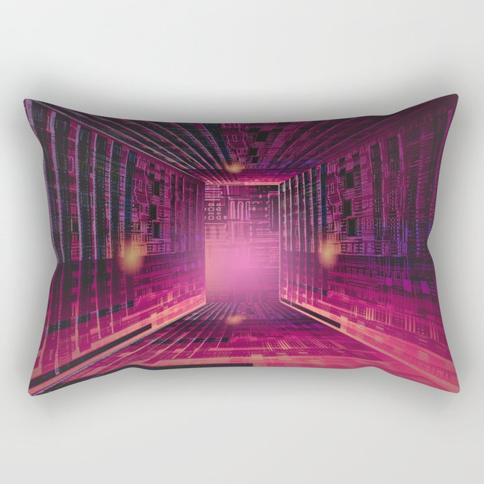 Enjoy the Labyrinth the Exit is an Illusion / 16-01-17 Rectangular Pillow