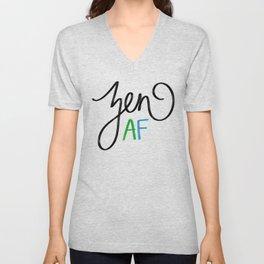 Zen AF Unisex V-Neck