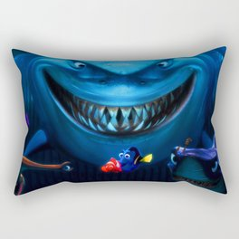 friendship fish Rectangular Pillow