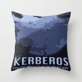 Visit Kerberos! Throw Pillow