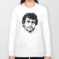 will graham Long Sleeve T-shirts featuring Will Graham Sketch - Hannibal by Soyarts