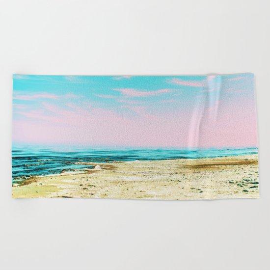 The Beach #society6 #decor #buyart Beach Towel