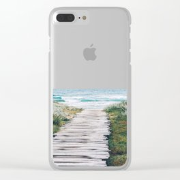 The Ocean is Calling & I Must Go #society6 #buyart Clear iPhone Case