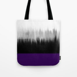 Asexuality Spectrum Flag Tote Bag