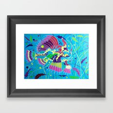 L'Arlecchino dei Sargassi (The Sargassumfish) Framed Art Print