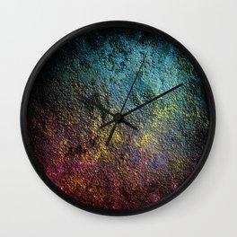 Inhabited exoplantet 898761alpha Wall Clock