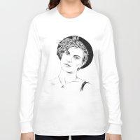 hayley williams Long Sleeve T-shirts featuring Hayley Williams by najidsalihu