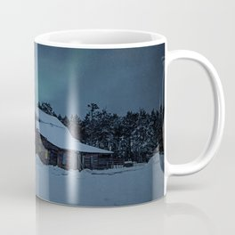 Winter finds out what summer lays up. Coffee Mug