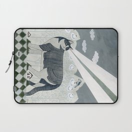 Beaming Cat Laptop Sleeve