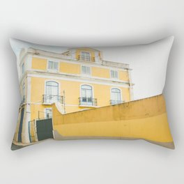 Lisboa in yellow Rectangular Pillow