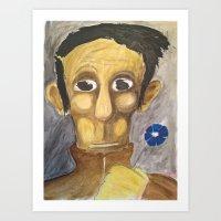 Homosapien Art Print