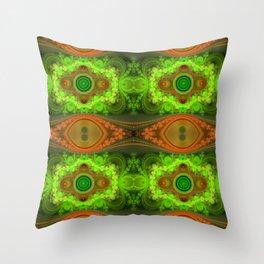 Autumn Dreamscape- Fractal Flame Grand Julian Throw Pillow