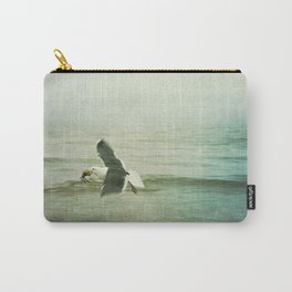 Seagull and Crab Carry-All Pouch