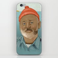 life aquatic iPhone & iPod Skins featuring An Aquatic Life by harrylime
