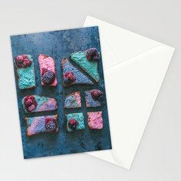 Vegan Unicorn Macadamia Cheese Toast Stationery Cards