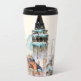 Istanbul landscape Travel Mug