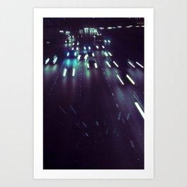 (purp)xSTREETZ Art Print