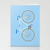 bianca Stationery Cards featuring Bianca Pistol by Jenni's Prints