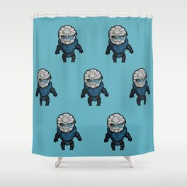 Garrus: In the middle of some calibrations Shower Curtain