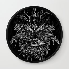 Forest Elemental Wall Clock