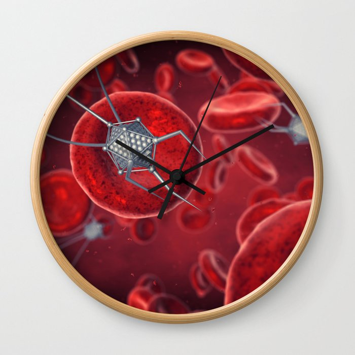 Nanomachines in the blood Wall Clock