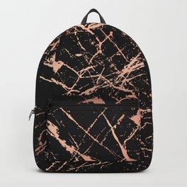 Copper Splatter 091 Backpack