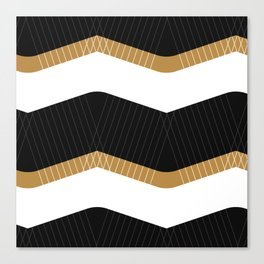 Crunchy Lines, No. 1 Canvas Print