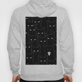 Black Cats Hoody