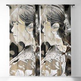 Kimono lady Blackout Curtain