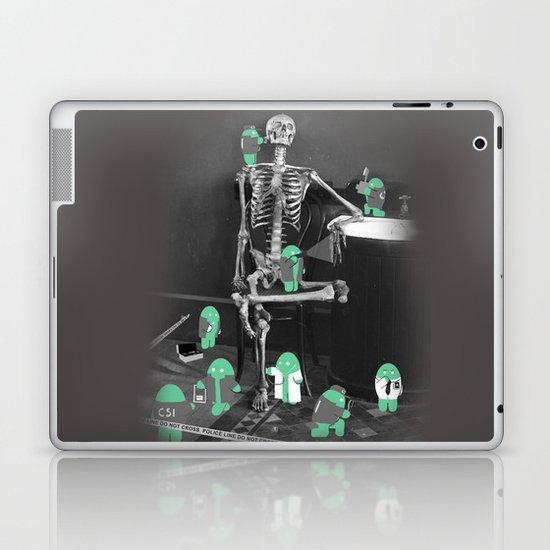 Crime Scene Investigation Laptop & iPad Skin