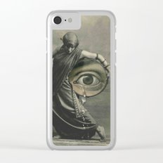 EYE CRY Clear iPhone Case