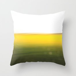 fields of gold 1o Throw Pillow