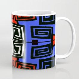 Blue & Red Coffee Mug