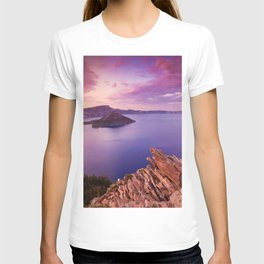 Crater Lake Sunset T-shirt