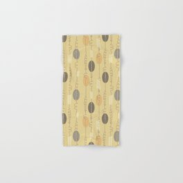 Midcentury Lineart Saffron Hand & Bath Towel