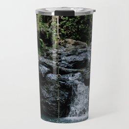 Hawaii Waterfall Travel Mug